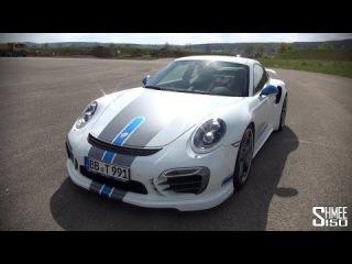 Обзор   TechArt Porsche 911 Turbo S [ENG]