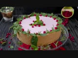 Творожный торт с клюквой   Больше рецептов на странице