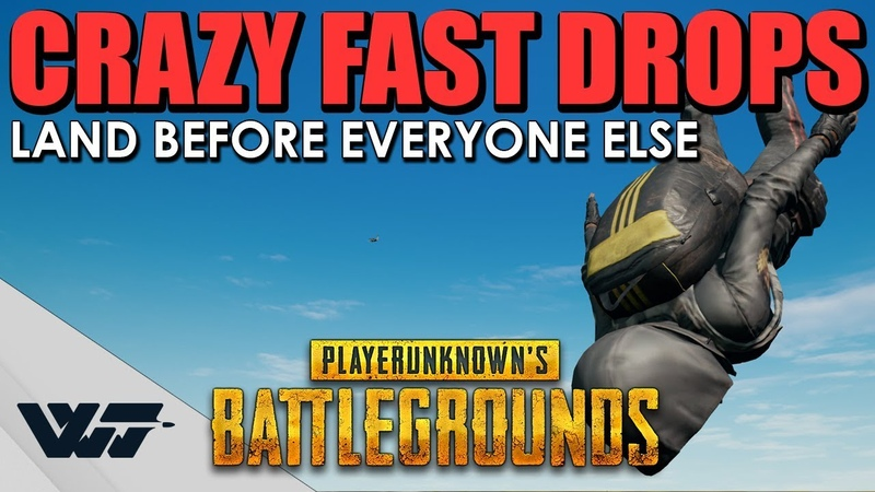 GUIDE: Land BEFORE EVERYONE ELSE, Crazy fast drops in PUBG