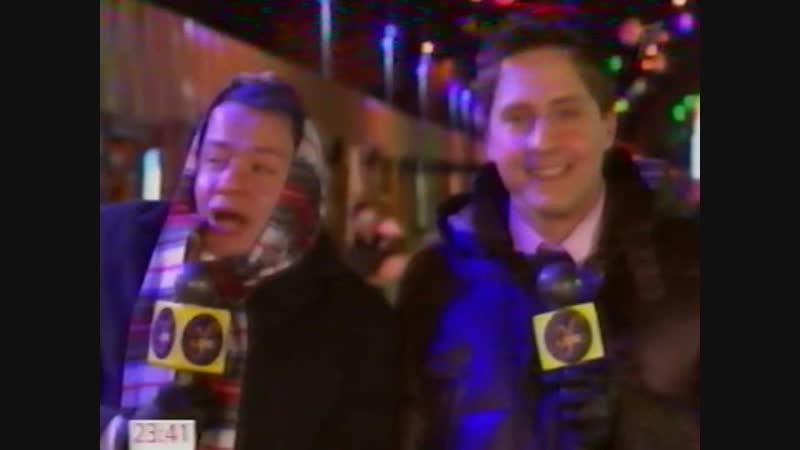Новый год 2012 на Первом канале Немножко холодновато