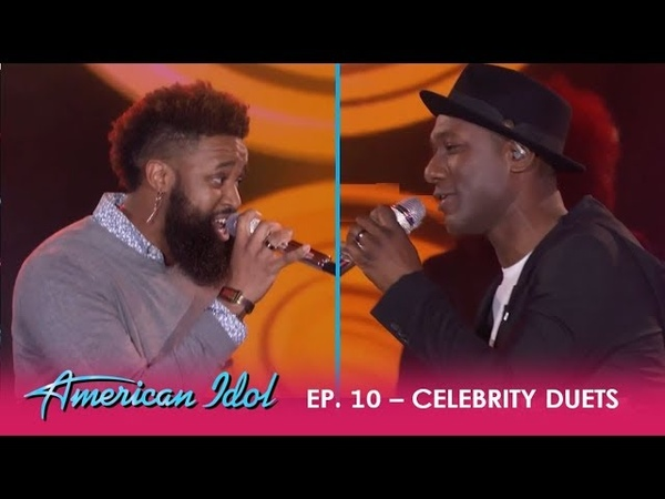 Dominique Aloe Blacc Duet SMASH Wake Me Up | American Idol 2018