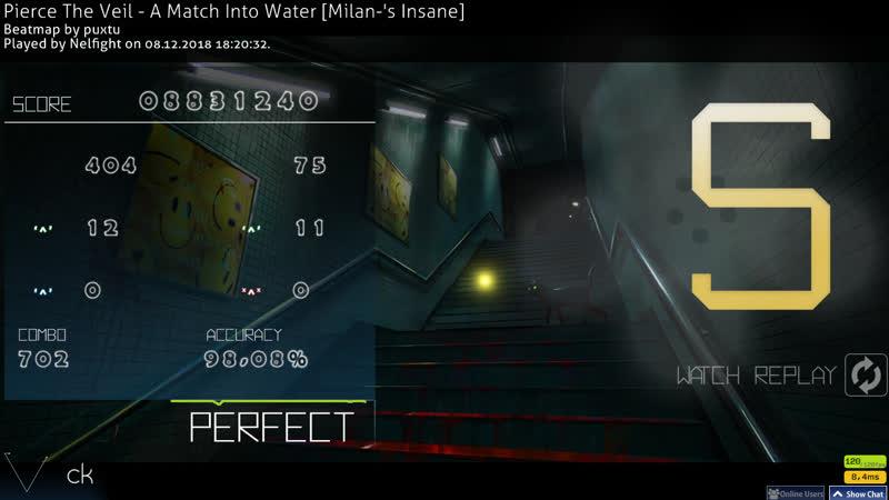 Pierce The Veil - A Match Into Water [Milan-'s Insane] FC