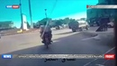 Разведчик сирийской армии снял видео на позициях джихадистов в Идлибе