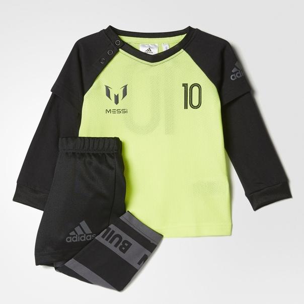 Комплект: лонгслив и шорты Messi