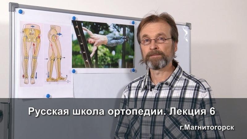 Русская школа ортопедии. Лекция 6