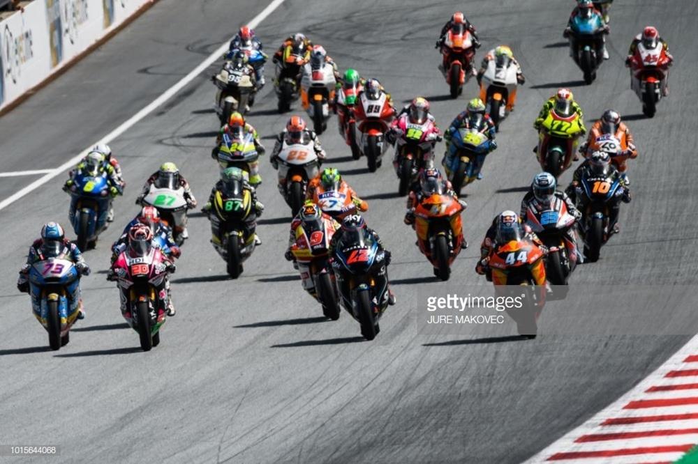 Результаты Гран При Австрии 2018 в категории Moto2