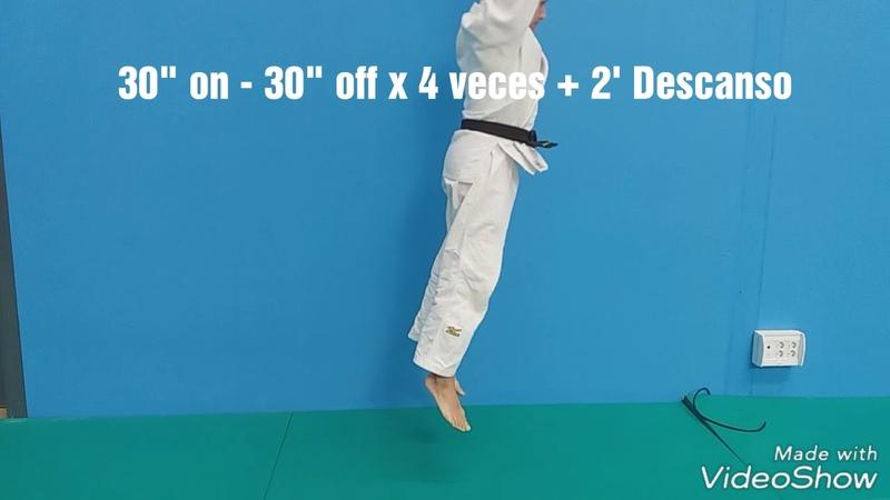 Ejercicios Introductorios on off preparacion fisica en Judo