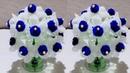 गुलदस्ता / DIY-NEW DESIGN WOOLLEN GULDASTA /FOAM GULDASTA WITH PLASTIC BOTTLE/FOAM FLOWER/FOAM