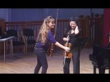 Nicola Benedetti Violin Masterclass at the RCM Emily Sun
