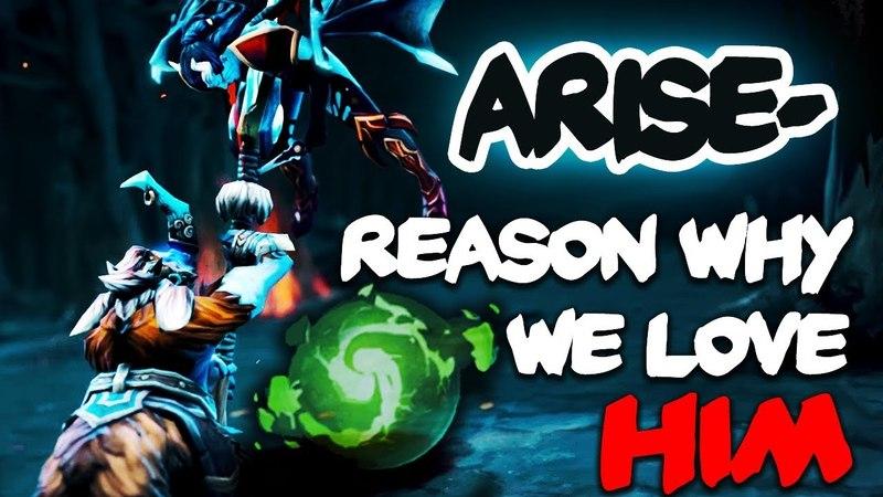 Reason Why We Love Ar1Se- Magnus - Dota 2 EPIC Gameplay