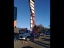 5 я кабельная Т Ц Спортекс Монтаж рекламы Автовышка 40 метров