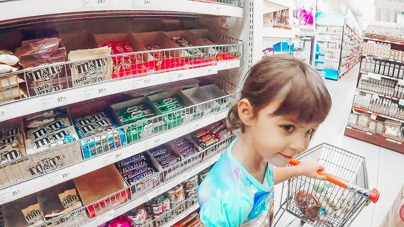 В магазине покупаем вкусняшки Необычные сундуки с конфетами
