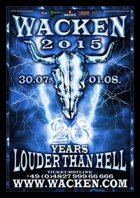 Поездка на Wacken 2015 Германия