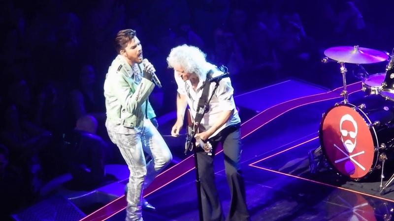Queen and Adam Lambert Heartbreak Hotel Vegas 21-9-2018