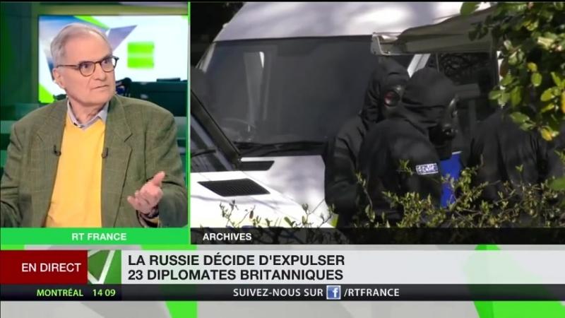 Alain Corvez : l'affaire Skripal aurait été « préparée à l'avance » par les Britanniques