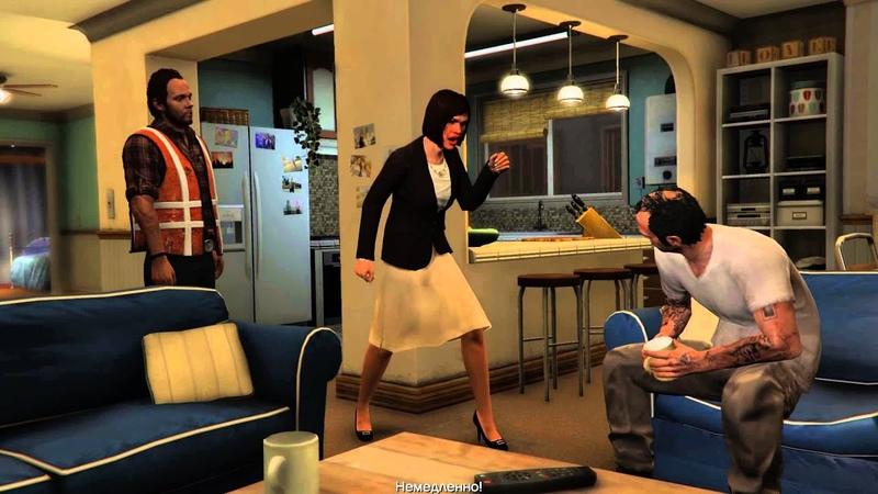 Лучшая сцена с Тревором в Grand Theft Auto V
