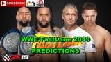 WWE FastLane 2019 SmackDown Tag Team Championship The Usos vs. The Miz &amp Shane McMahon WWE 2K19
