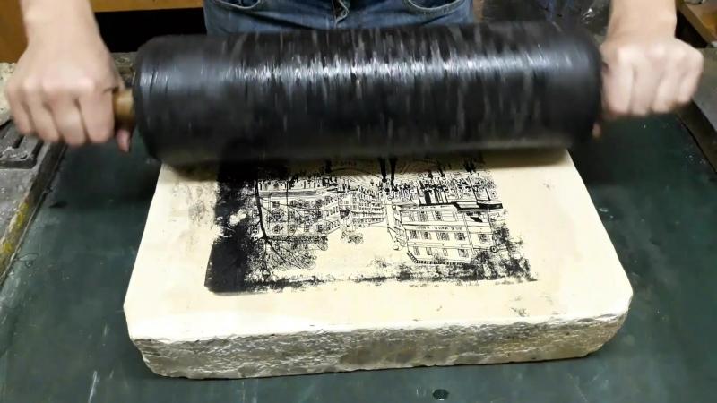 Печать литографий Любови Великосельской
