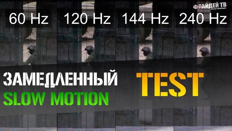 Сравнение частоты кадров в cs go 60hz vs 144hz vs 240hz Фрайдей ТВ