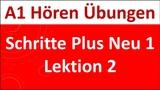 Schritte Plus NEU 1 Lektion 2 A1 H