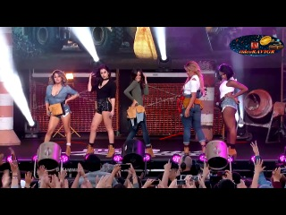 Fifth Harmony - Work From Home. Jimmy Kimmel Live, 25.03.16