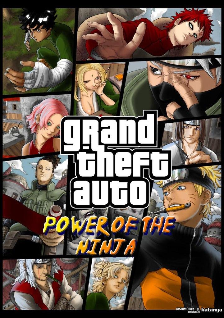 Скачать игру гта наруто power of the ninja через торрент
