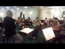 Фрагмент репетиции оперы Дж.Верди Травиата. За дирижерским пультом - Маурицио Донес.