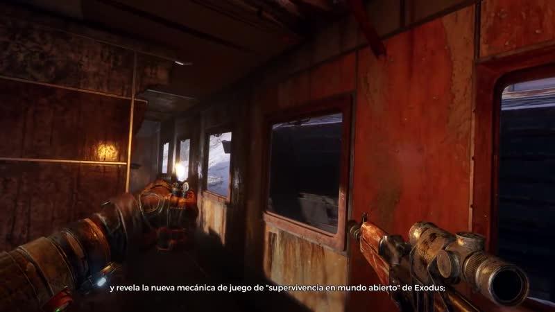METRO EXODUS Gameplay Demo ¦ English Sub Español (Metro Exodus Beta)