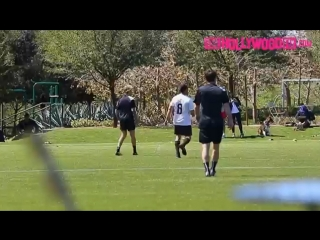 March 17: Another video of Justin playing soccer in Playa Vista, California