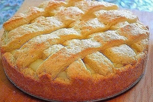 Пай яблочный пирог рецепт с