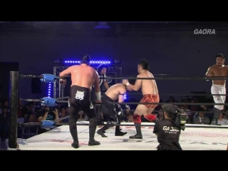 Ben-K, Jason Lee vs. Don Fujii, Ryo Saito (Dragon Gate - The Gate of Adventure 2018 - Day 13)