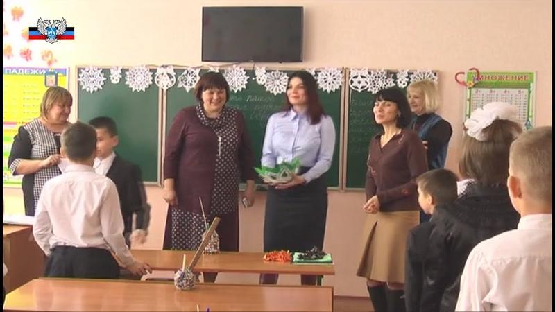 Советник Главы ДНР по правам ребенка посетила Амвросиевскую школу интернат для детей сирот