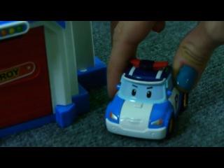 Робокар Поли мультик из игрушечных машинок - игра в прятки