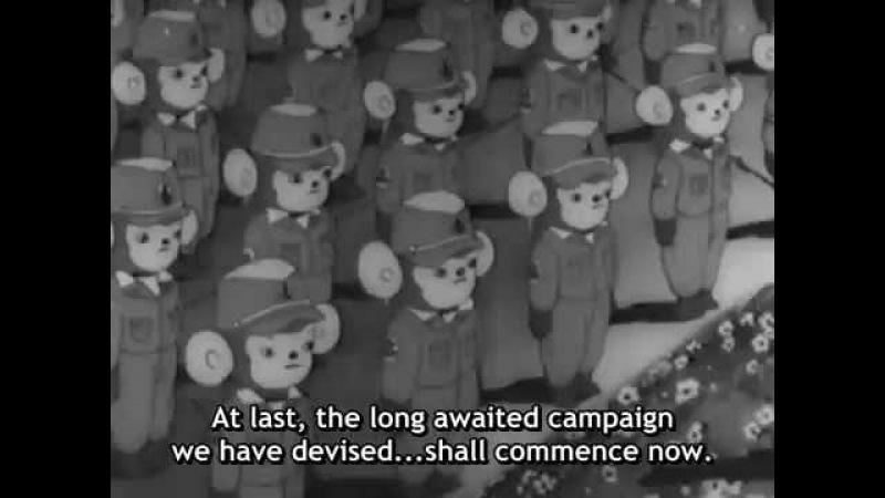 [First Anime Movie] 1945 Momotaros Divine Sea Warriors English Subtitles
