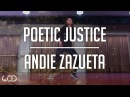 Andie Zazueta Choreography   Poetic Justice