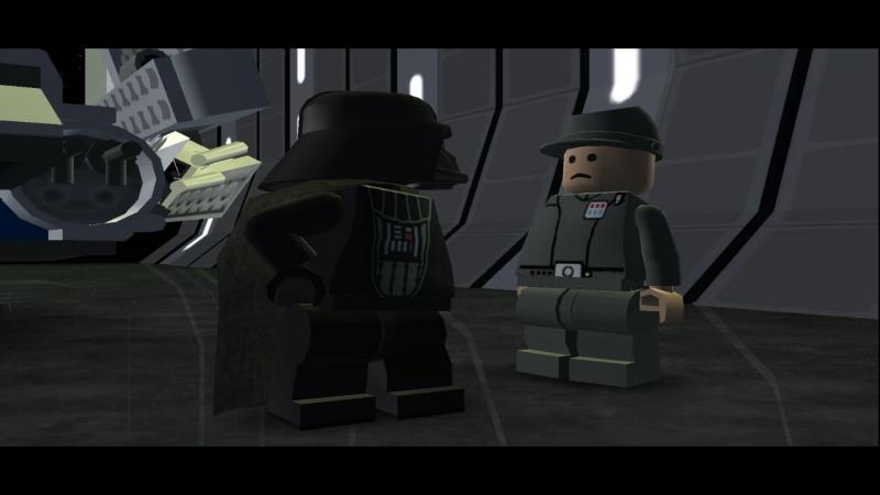 Прибытие Дарта Вейдера LEGO.