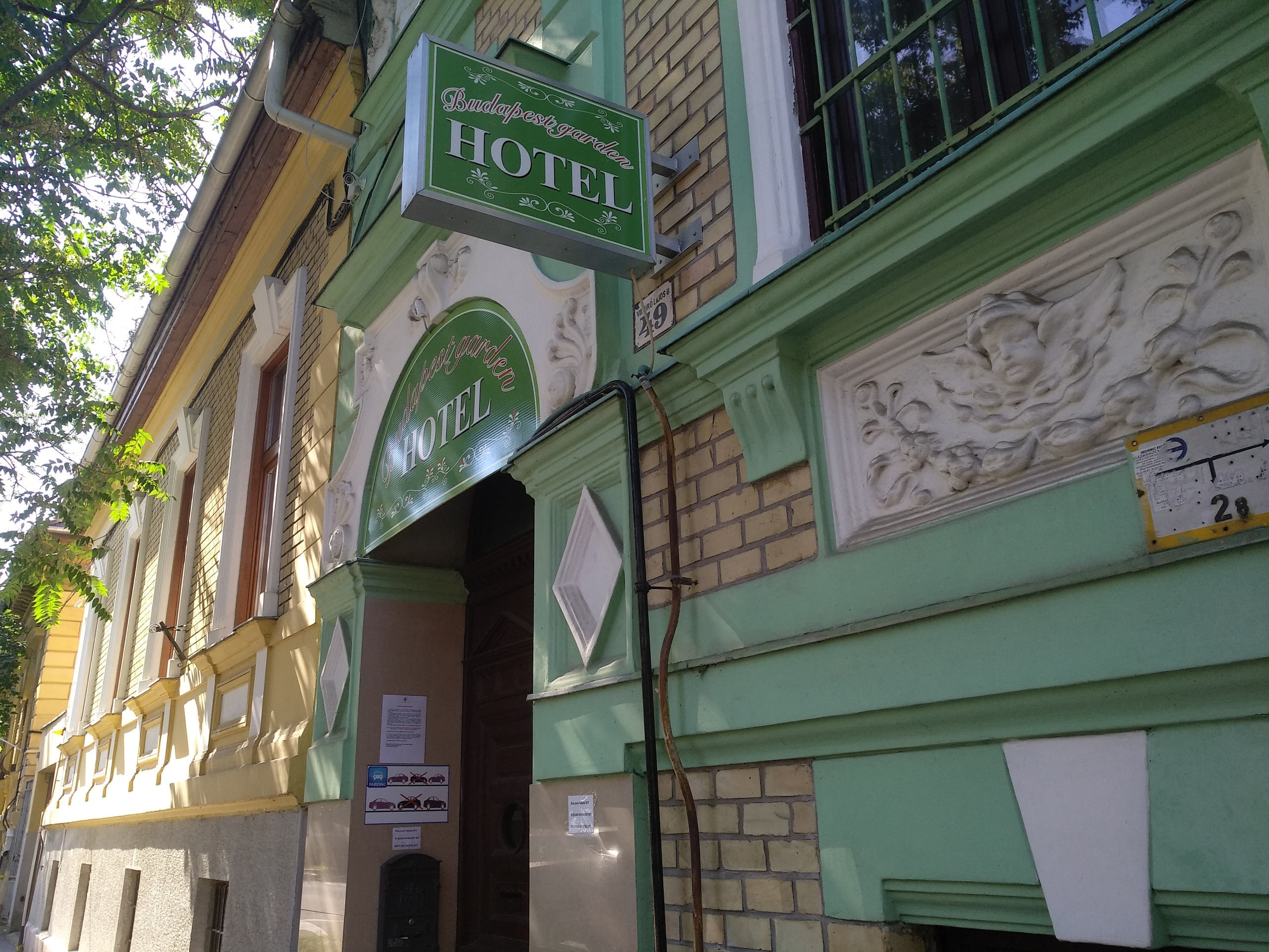 Budapest Garden Hotel - за острыми оущениями, сюда!