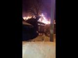 В Перми горит частный дом на Юбилейном (Южный)