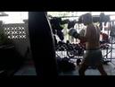 Сборы в Бангкоке. Работа на мешках бойцами БУЛАТ РОССИЯ