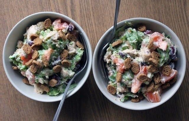 Весенний салат Для приготовления 6-8 порций нам понадобится: •