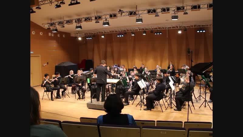 Органная прелюдия ре минор, инструментовка для духового оркестра А.Гилева.