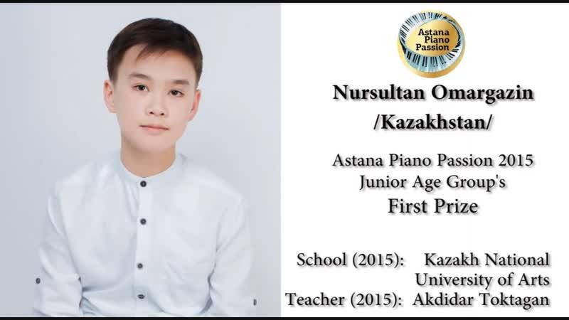 Nursultan Omargazin (Kazakhstan) - Само участие в таком конкурсе уже победа!