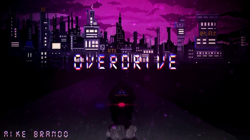 Mike Brando - Overdrive (Game soundtrack style 3) retrowave