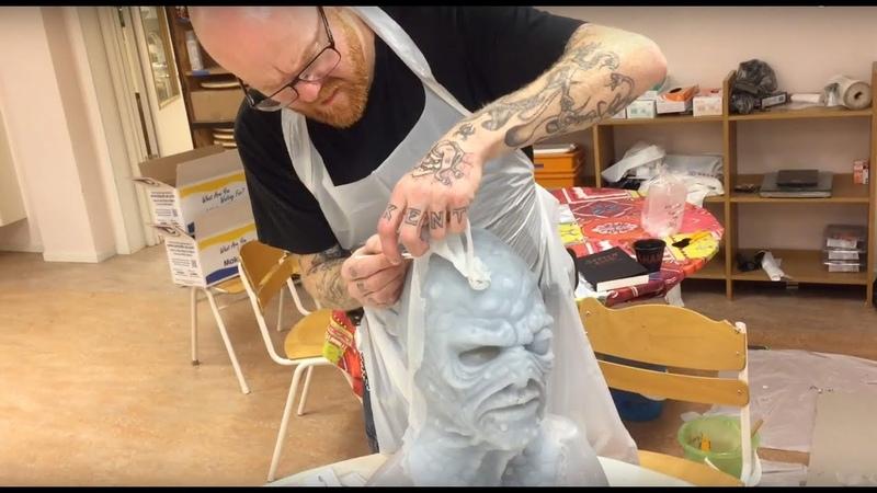 10-Day Silicone Mask Making Workshops - Helsinglight SFX Makeup Academy Sweden
