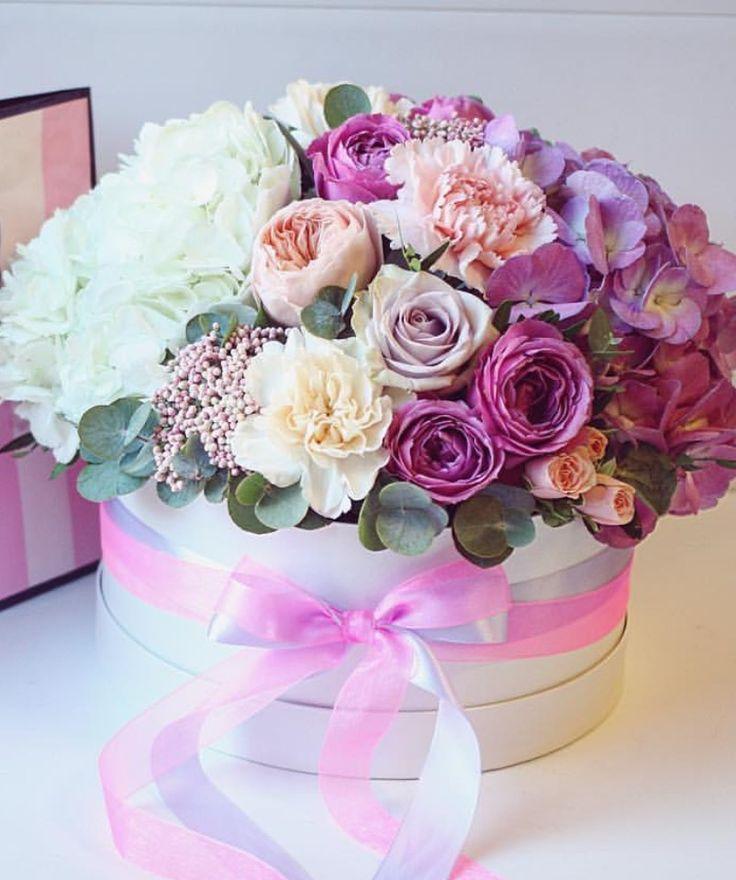 Открытки с днем рождения цветы в коробке, про осень