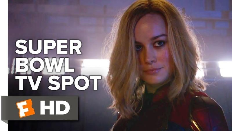 Captain Marvel Super Bowl TV Spot 2019 Movieclips Trailers