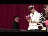 FANCAM 29.04.18 Chan @ UNB 7th Fansign CTS Art Center