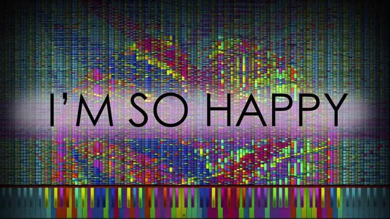 [Black MIDI] Jubeat (Ryu☆) - Im So Happy   1,000,000 Notes