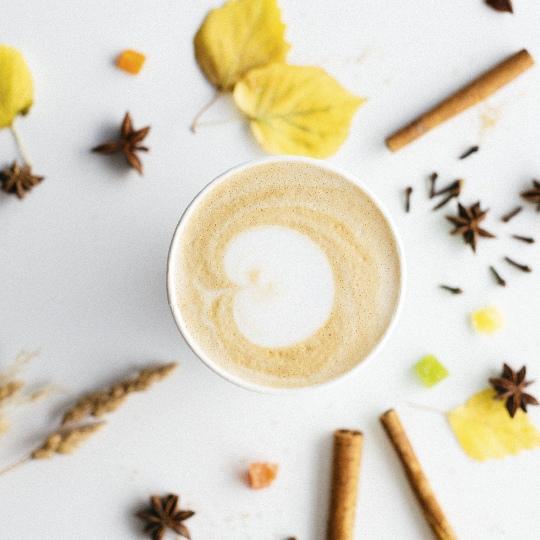 Ощути осень: Пряный капучино