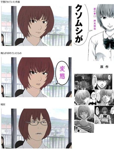 Реальные актеры и их аниме образы